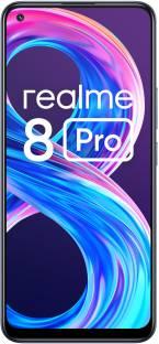 Flipkart offers on Mobiles - realme 8 Pro (Infinite Black, 128 GB) 8 GB RAM