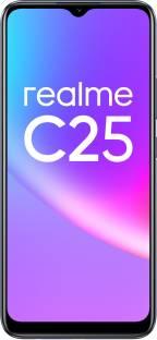 Flipkart offers on Mobiles - realme C25 (Watery Grey, 128 GB)(4 GB RAM)