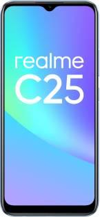 Flipkart offers on Mobiles - realme C25 (Watery Blue, 128 GB) 4 GB RAM