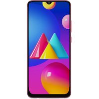 Shopclues offers on Mobiles - Samsung Galaxy M02s ( Red,3GB RAM, 32GB )