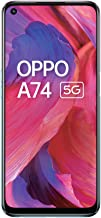 Amazon offers on Mobiles - OPPO A74 5G (Fluid Black,6GB RAM,128GB Storage) - 5G Android Smartphone | 5000 mAh Battery | 18W Fast Charge | 90Hz LCD Display