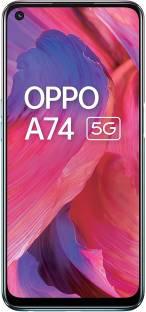 Flipkart offers on Mobiles - OPPO A74 5G (Fantastic Purple, 128 GB) 6 GB RAM