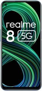Flipkart offers on Mobiles - realme 8 5G (Supersonic Blue, 128 GB) 8 GB RAM