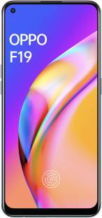 Flipkart offers on Mobiles - OPPO F19 (Space Silver, 128 GB) 6 GB RAM