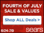 4th of July Sale and Values at Sears