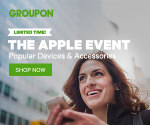 Up to 70% off The Apple Event at Groupon