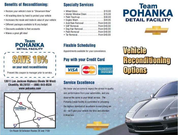 Detail Wash - Pohanka Chevrolet
