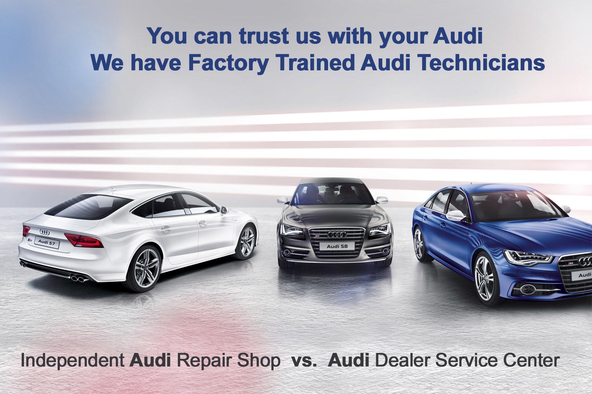 Bmw Specialist Near Me >> Independent Audi Greensboro Shop vs. Audi Dealer Service Center Greensboro, NC