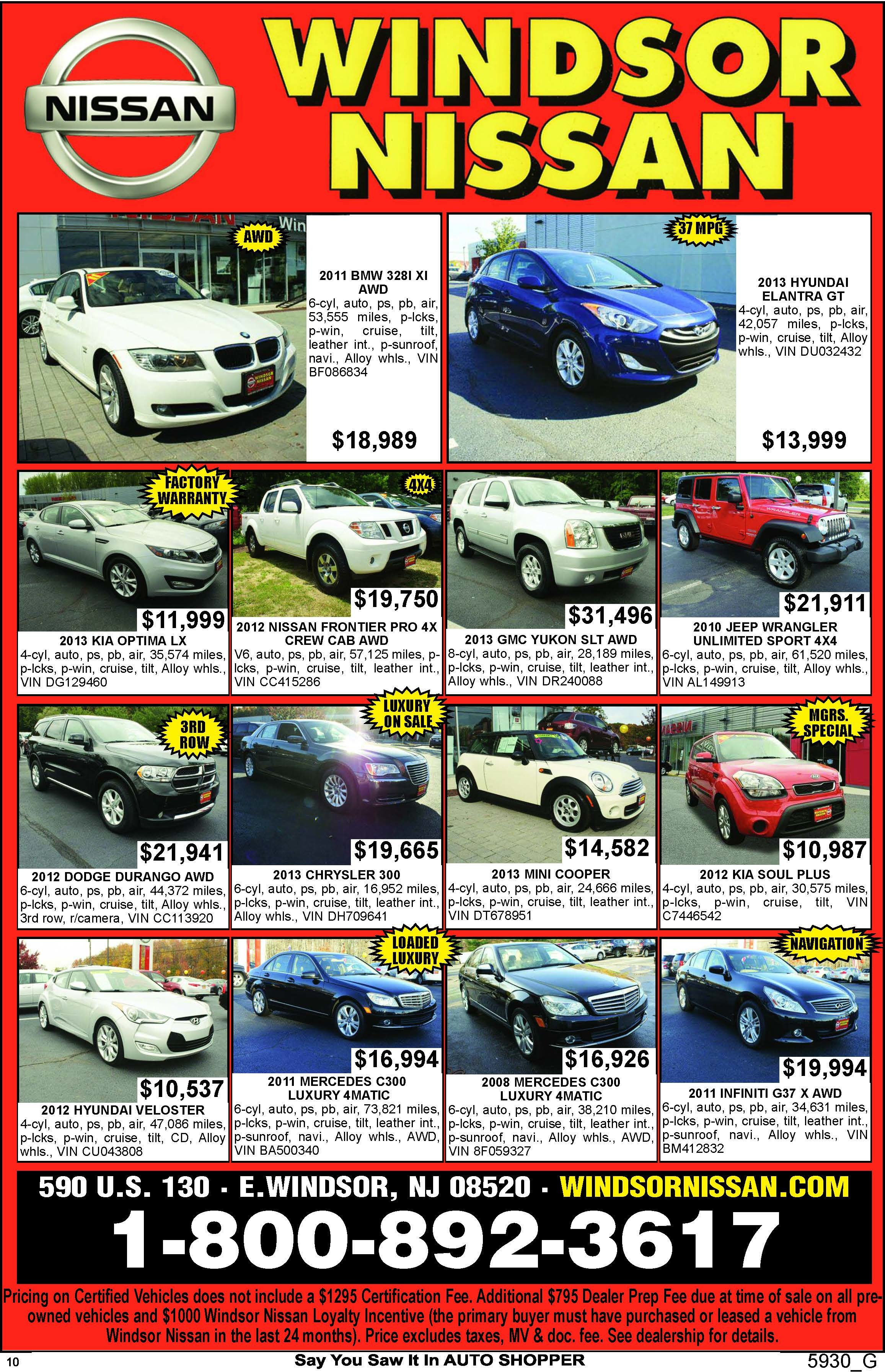 Sunday Newspaper Ads Cars For Lease