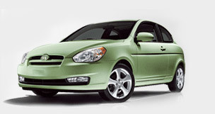 New Green Hyundai.