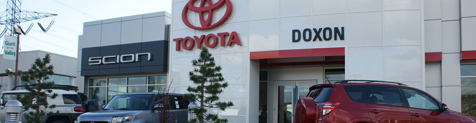 Doxon Toyota Dealership Community
