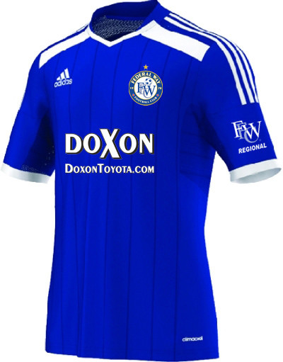 federal way football club cobalt jersey