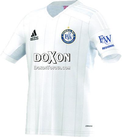 federal way football club white jersey