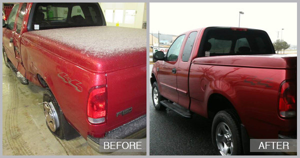 Before And After Maryland Autobody