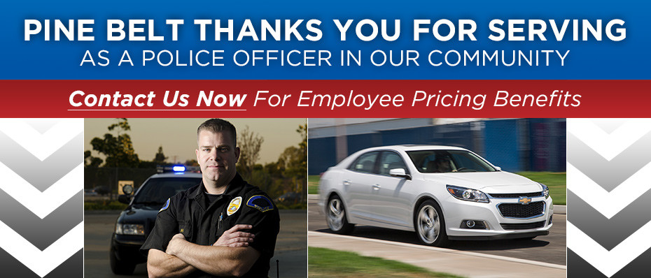 Police Officers Save At Pine Belt Chevrolet Pine Belt Cars