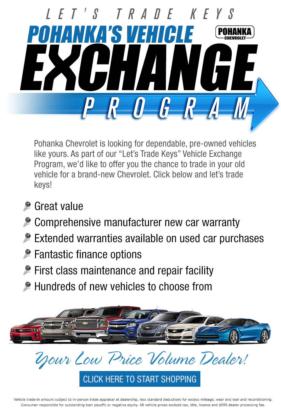 Pohanka Chevy Vehicle Exchange Program - Pohanka Chevrolet