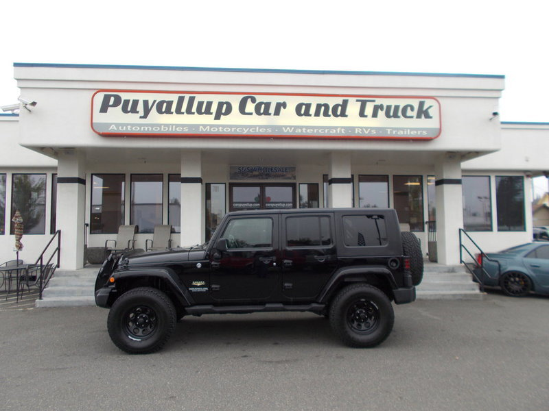 pre owned lifted jeep for sale in puyallup puyallup car and truck. Black Bedroom Furniture Sets. Home Design Ideas