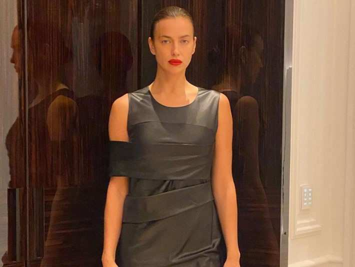 Ирина Шейк снялась топлес для калифорнийского бренда Alo Wellness