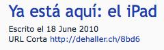URL Corta ejemplo