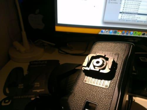Canon 40D + grip con zapata de Capture