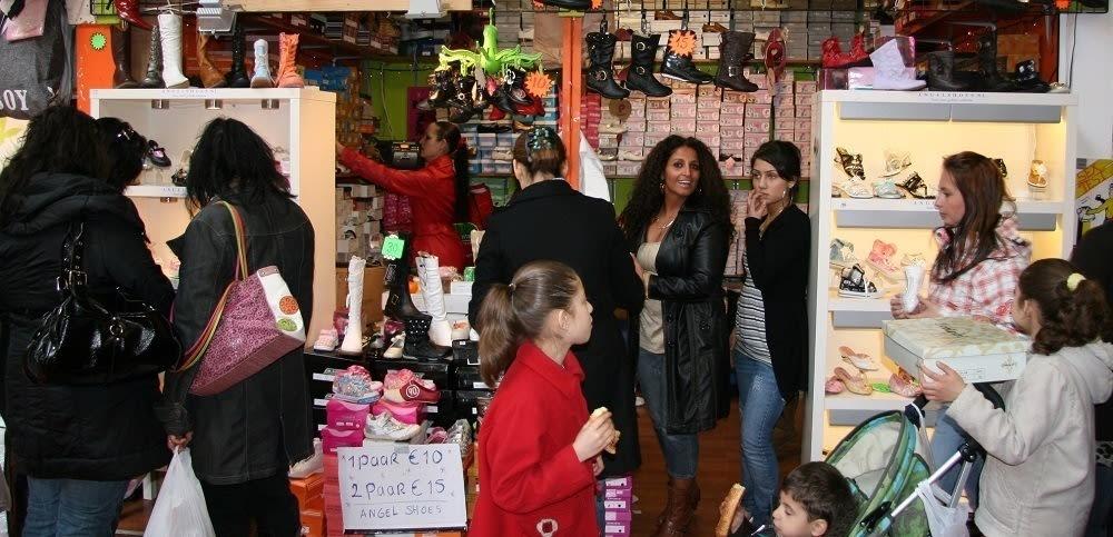 Kinderschoenen-winkel