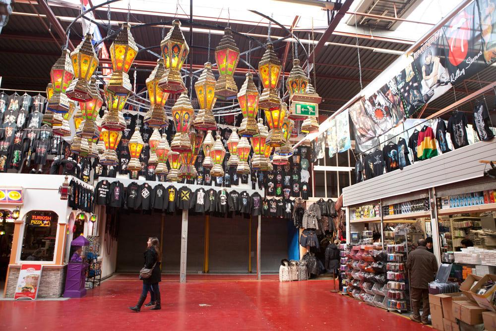 Grand Bazaar Een van de grootste hallen op De Bazaar