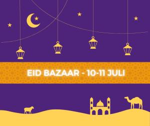 Eid Bazaar met Offerfeest artikelen