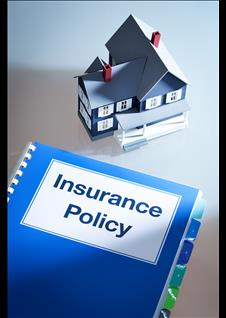 Insurance Policy and a model home