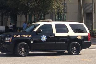 Florida State Trooper Vehicle