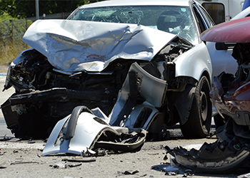 Car accident leading to personal injury