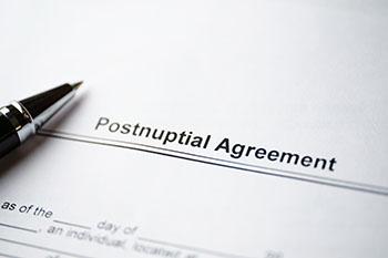 Postnuptial Agreement document