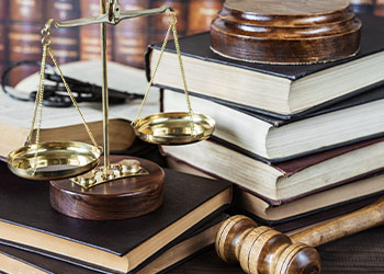 Scales of Justice on Books