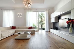 Interior of Home with modern decor