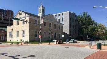 A church on the corner