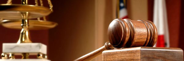 Close up of Gavel and Scales
