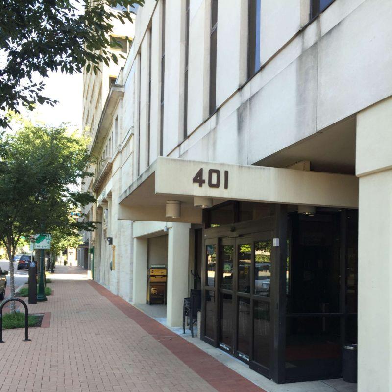 Exterior of 401 Washington Ave