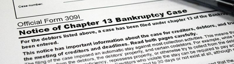 Notice of Chapter 13 Bankrupcty Case