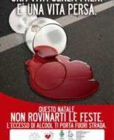 Pubblicità contro gli incidenti stradali da alcol