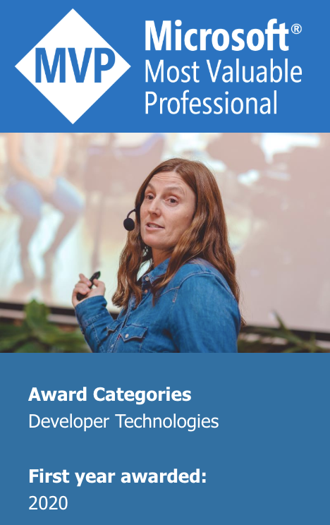 Debbie O'Brien - Microsoft Most Valuable Professional