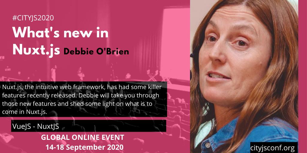 CityJSConf talks to…Debbie O'Brien