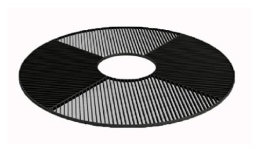 Стальные ячеистые и щелевые приствольные решетки