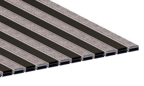 Придверные алюминиевые решетки Стандарт b40