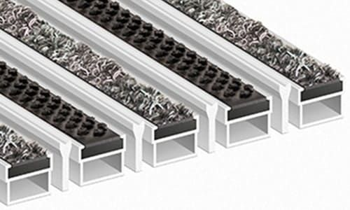 Придверные алюминиевые решетки Стандарт