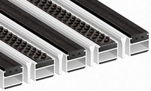 Придверные алюминиевые решетки Премиум