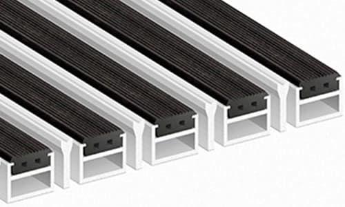 Придверные алюминиевые решетки Стронг
