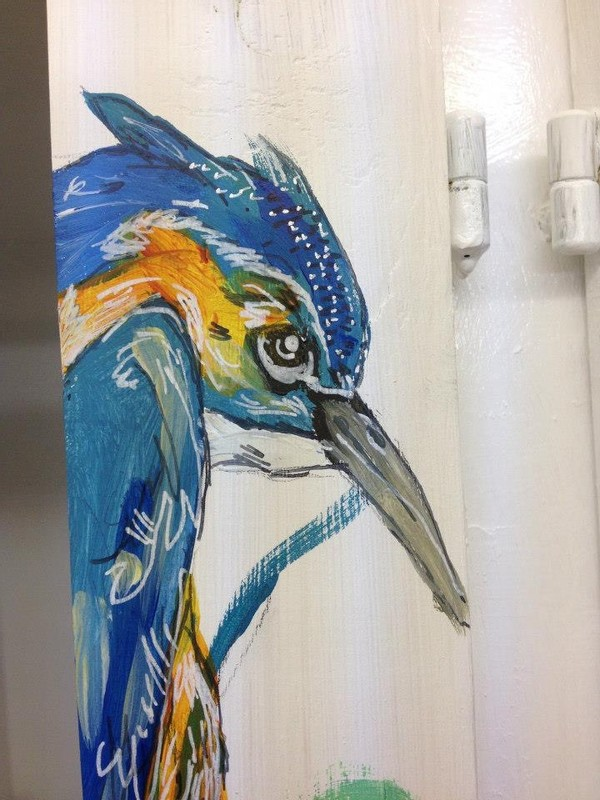 Close up of Kingfisher