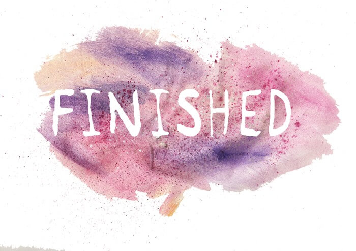 Day 30: Finished