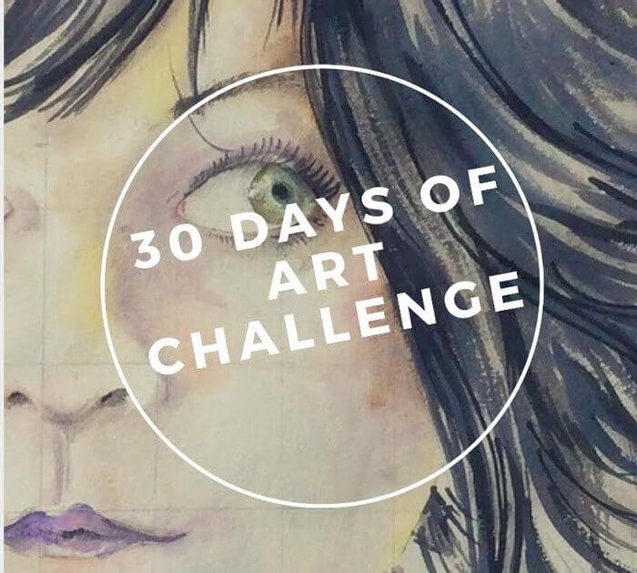 30 days of Art Challenge