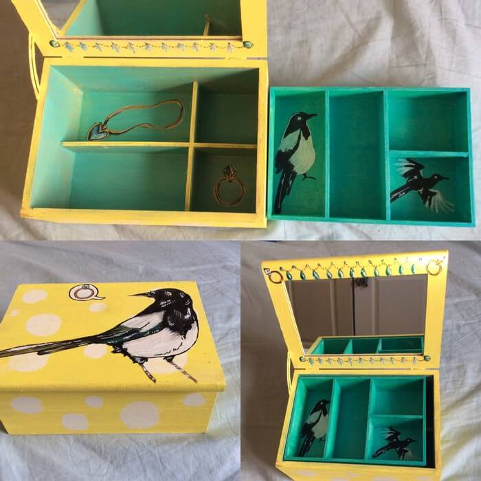 Magpie Jewelry Box
