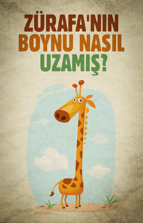 Zürafanın Boynu Nasıl Uzamış?